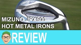Mizuno JPX900 Hot Metal Irons
