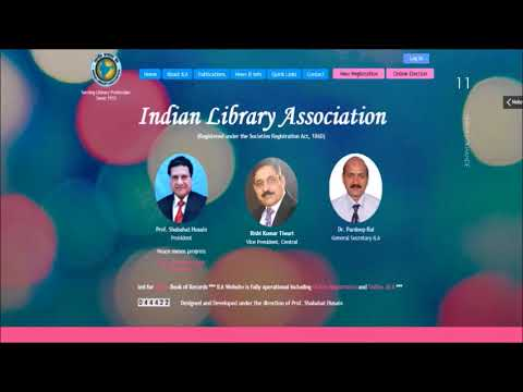 Library Associations In India By Ms. Sneha Lokhande