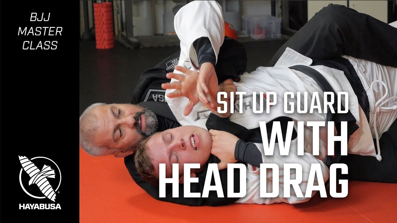 The Machado Method | Sit Up Guard with Head Drag | Jiu Jitsu