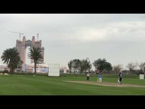 Mubashar's Batting @ Emirates Palace