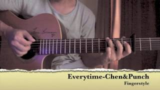 Everytime-OST.Descendants of the Sun Fingerstyle Guitar Cover By Toeyguitaree (TAB)