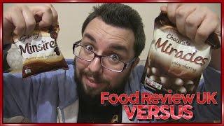 Galaxy Minstrels VS Poundland Miracles | Food Review UK Versus