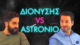Dionysis Atzarakis & Astronio - Space Challenge | Celebrity Science