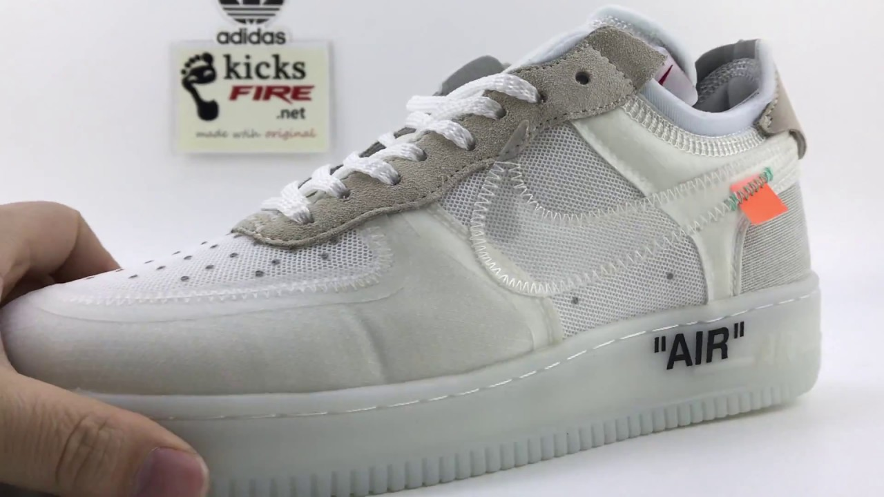 bfa336b17b6b Nike Air Force 1 Low x Virgil Abloh AO4606-100 From www.kicksfire ...