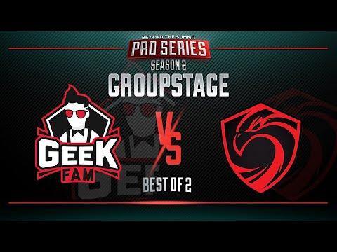 VOD: Geek Fam vs Cignal - BTS Pro Series S2 - Game 2