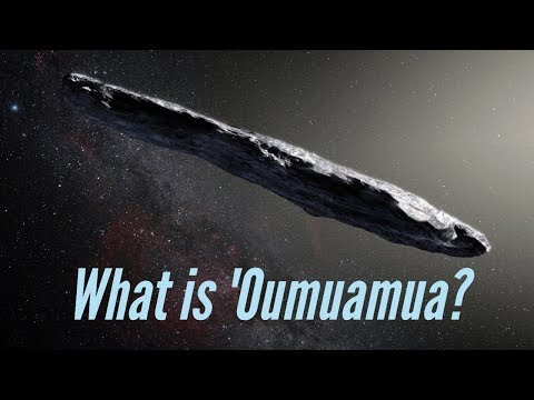 The mystery of 'Oumuamua, the interstellar comet   Tech2 Science