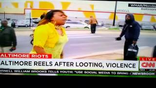Mom lays beat down on rioting son