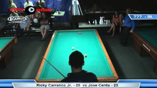 3 Cushion @ The Eight Ball - (rematch) Frederic Caudron vs Carlos Diaz