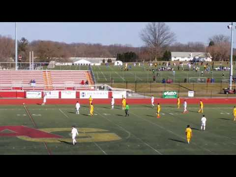 Colonial College Showcase 1st Half game 2 2.26.17