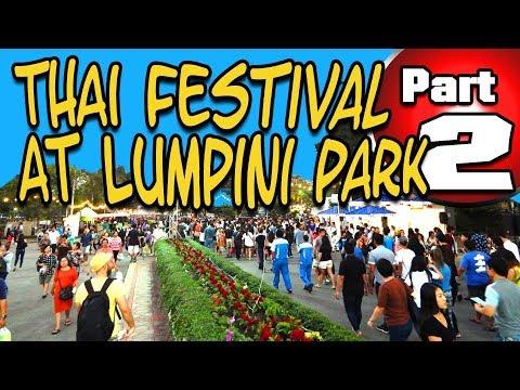 Thai Festival at Lumpini Park in Bangkok Part 2
