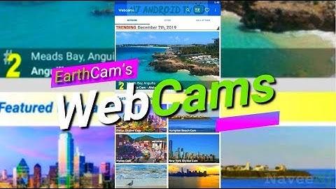 EarthCam Webcams - Live Streaming Webcams App Worth Installing