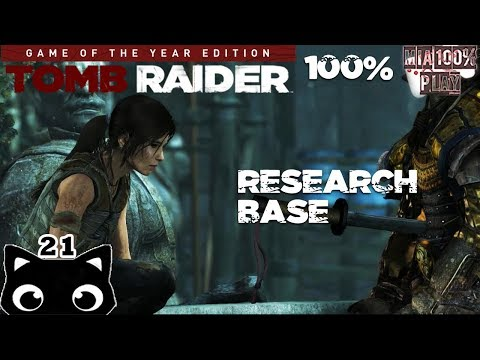 Research Base - Walkthrough 100% Tomb Raider GOTY Edition - 21  