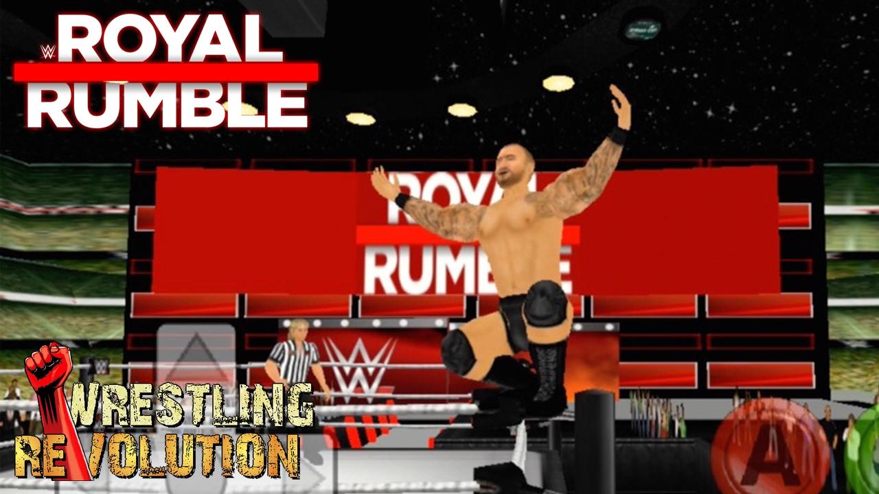 Randy Orton wins the Royal Rumble - Wrestling Revolution 3D