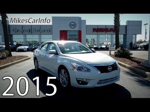 Elegant 2015 Nissan Altima 3.5 SL