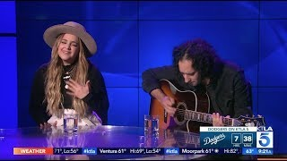 Alisan Porter Performs her New Single &quotWild One&quot for FIRST TIME Live on KTLA