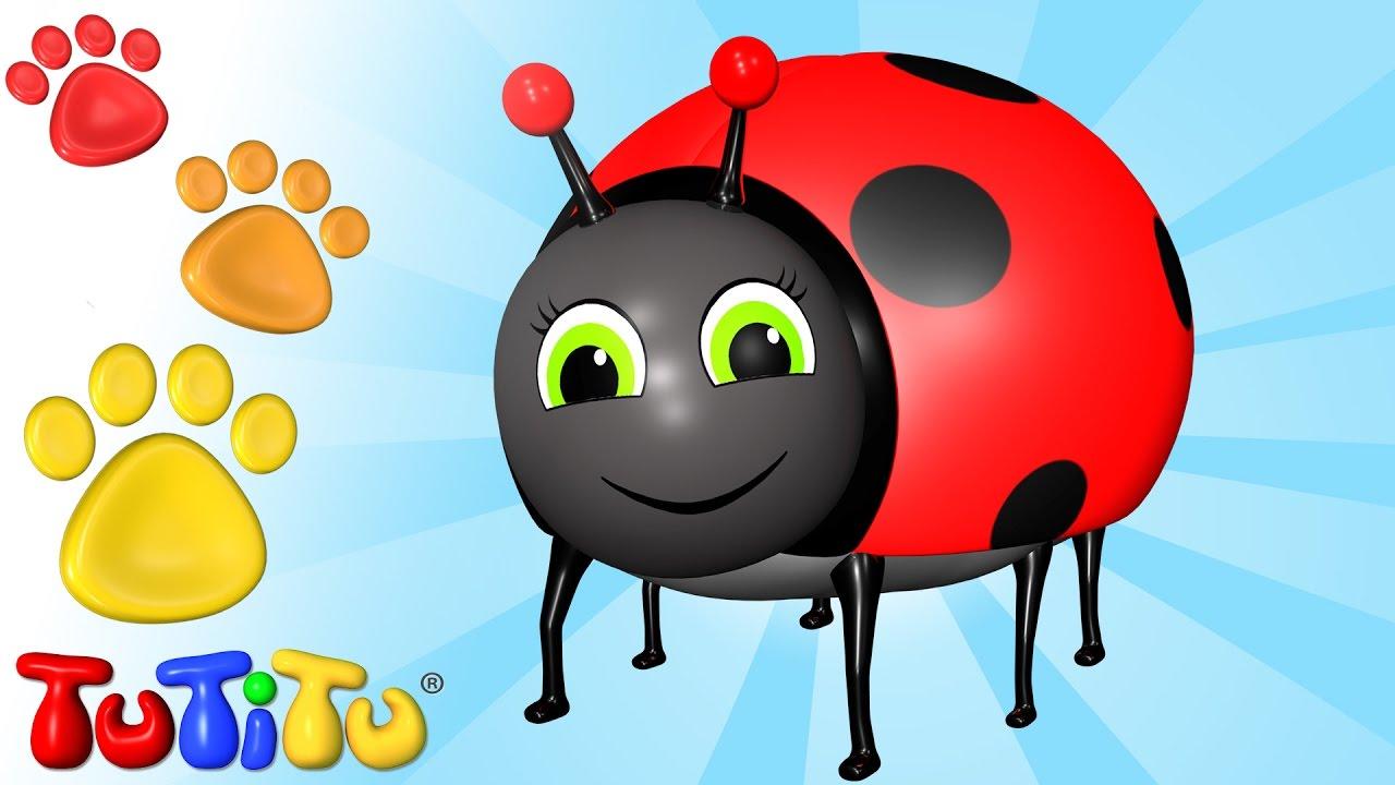 Tutitu Animales En Español Escarabajo Aprende Nombres De Animales Con Tutitu