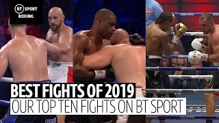 The 10 best fights in 2019 on BT Sport
