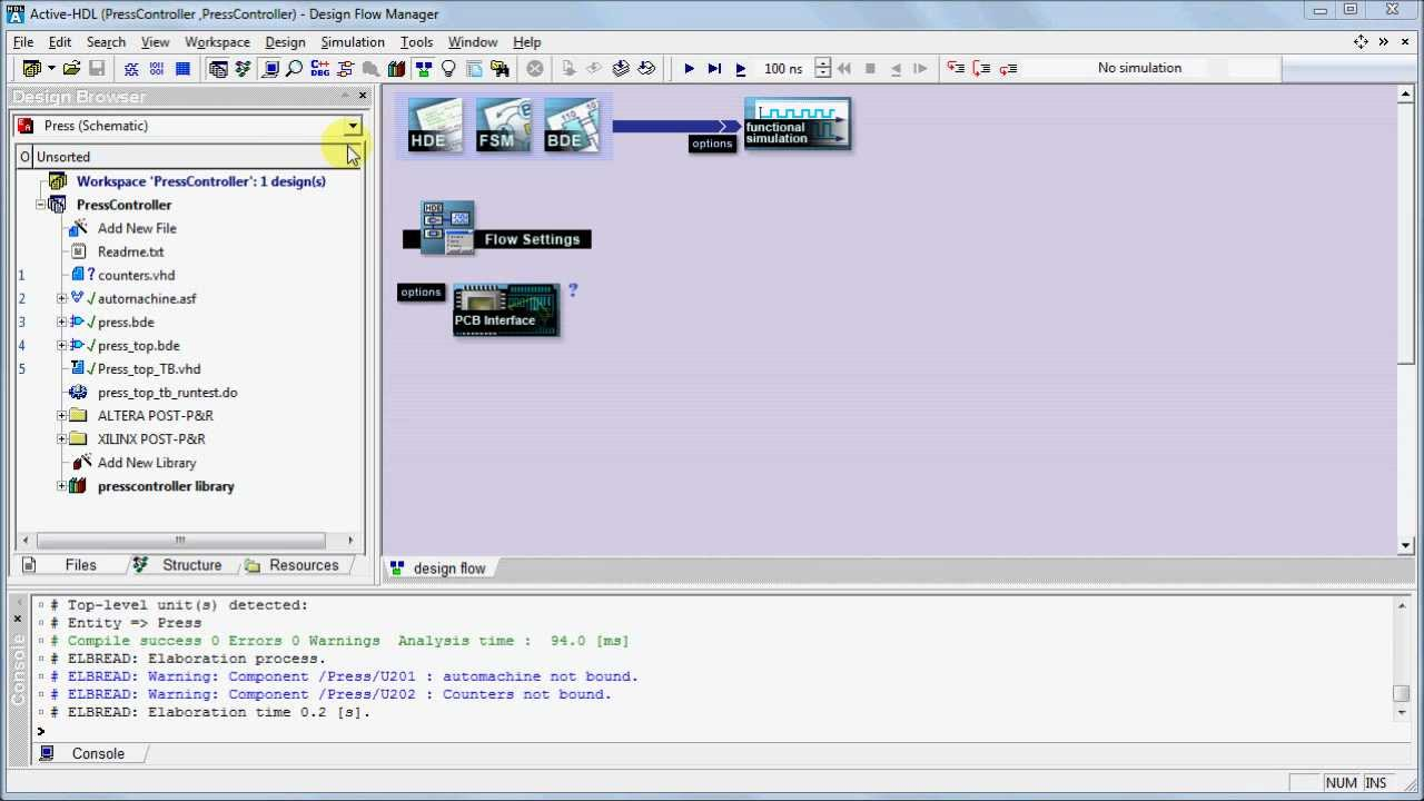Active-HDL 3 1 Compilation and Simulation: Compilation and Simulation