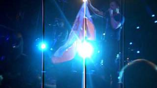 OneRepublic - Ryan with POLISH flag on Marching On (live @ Stodoła Warsaw, Poland) 27.04.2011