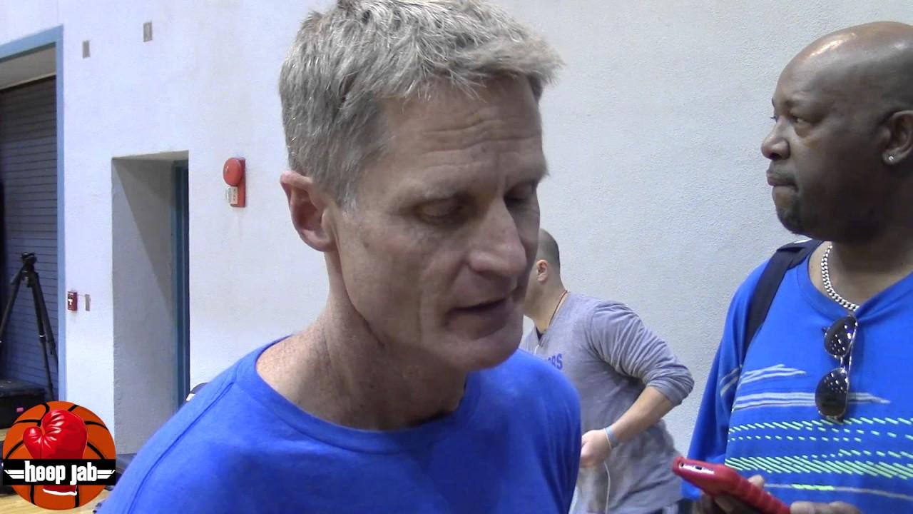 Warriors owner hopes coach Steve Kerr returns soon after Friday's back procedure