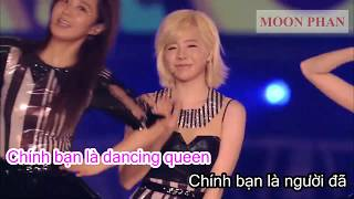 [Karaoke Việt + Audio] DANCING QUEEN - Girls' Generation 소녀시…