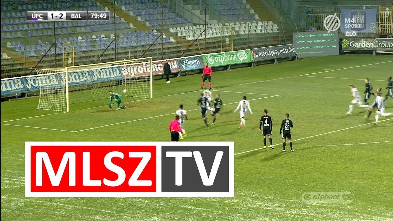 Novothny Soma Zsombor duplázása az Újpest FC - Balmaz Kamilla Gyógyfürdő mérkőzésen