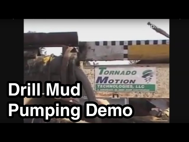 Drilling Mud Dredge Pump Demo