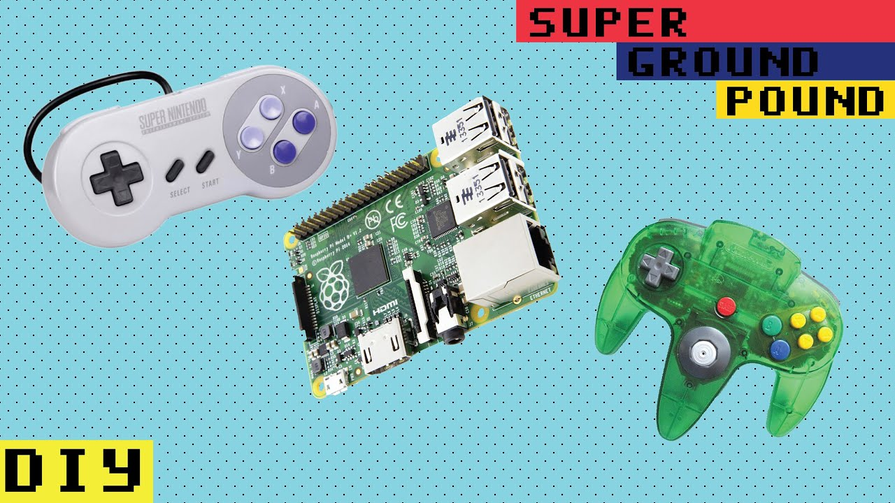 SGP DYI - Using Original N64 & SNES Controllers On The Raspberry Pi ...