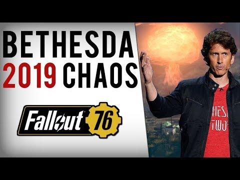 Bethesda Starts 2019 In Chaos - Fallout 76 Breaks, Nuka Dark/Unfair Bans Response & Atomic Shop Mess thumbnail
