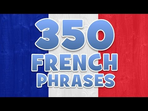 350 FRENCH PHRASES AND WORDS