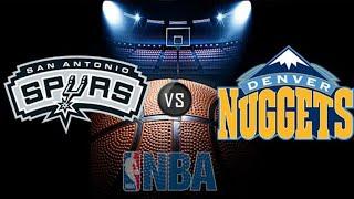 NBA Playoffs San Antonio Spurs Vs. Denver Nuggets Live Stream Reaction & Play By Play