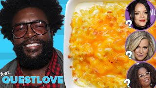 Can Questlove Guess Which Celebrities Made These Dishes?