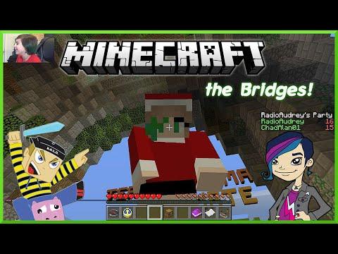 Minecraft Monday EP62 - Bridges in Christmas Skin with Gamer Chad on Mineplex
