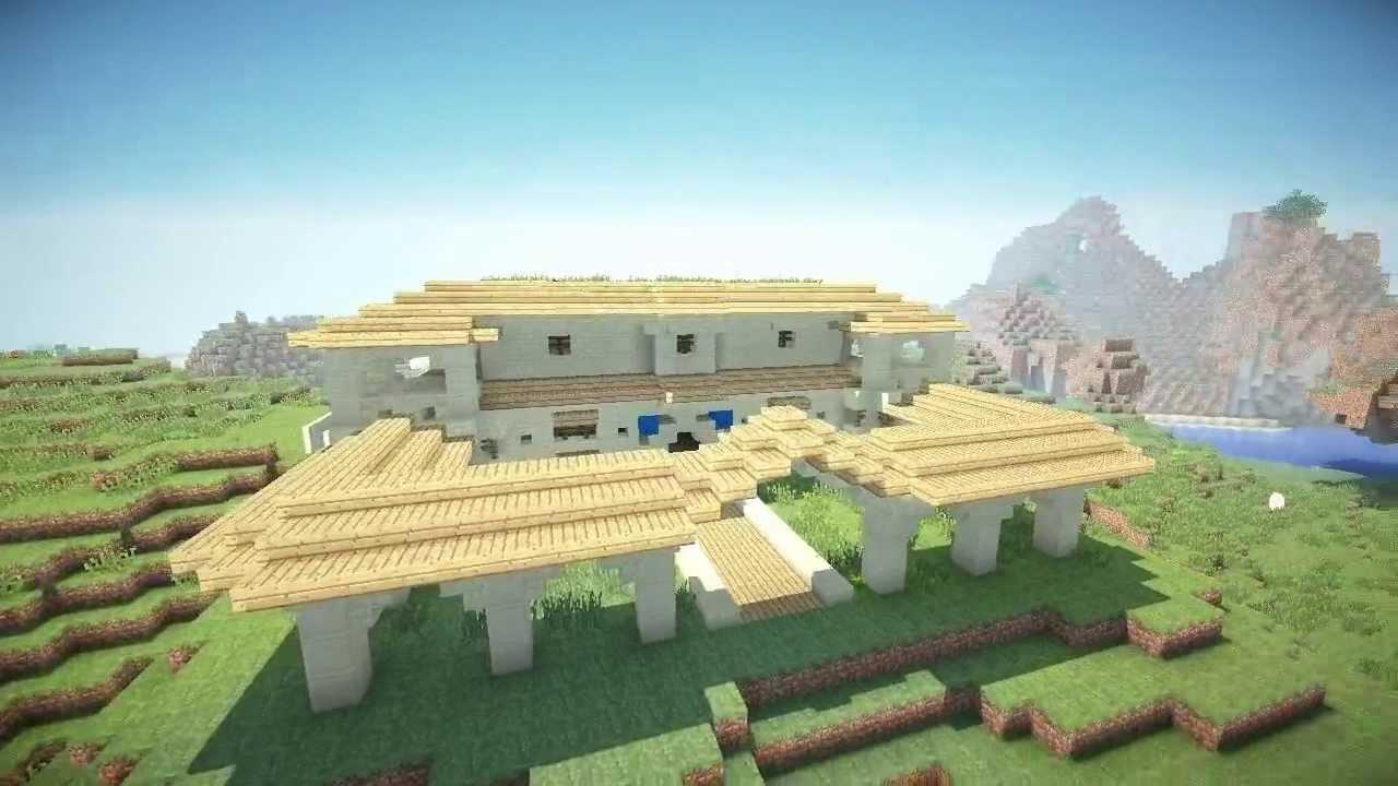 Schematic Villa Greco Romaine