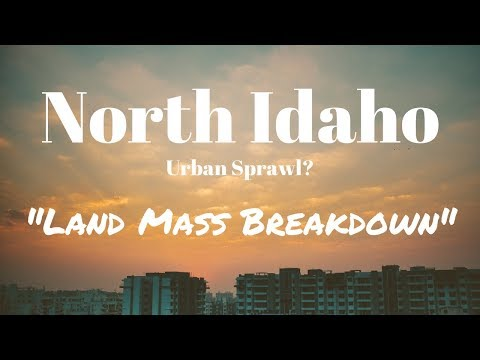 North Idaho Land Mass Breakdown