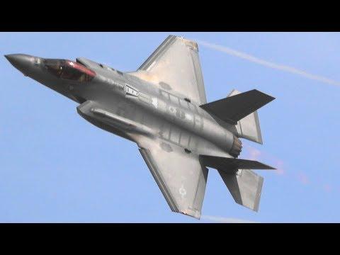 F-35 Demo Team Full Aerial Demonstration practice at Luke AFB Feb.25 2019