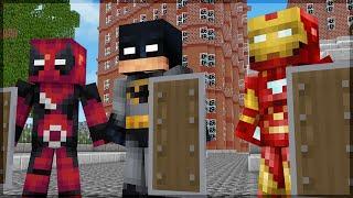 Minecraft: 5 ESCUDOS DE SUPER HERÓIS PARA VOCÊ FAZER!