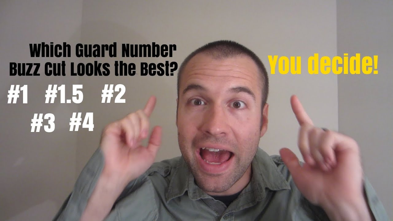 Receding Hairline Which Guard Buzz Cut Looks The Best You Decide