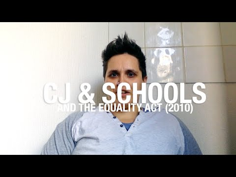 cj & schools & the equality act 2010