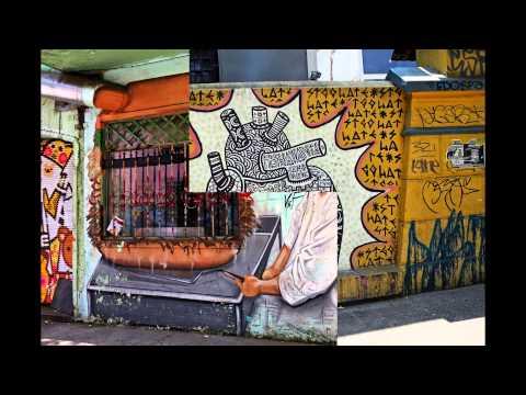 Graffiti in Barrio Bellavista - Santiago, Chile | Culture Explorer
