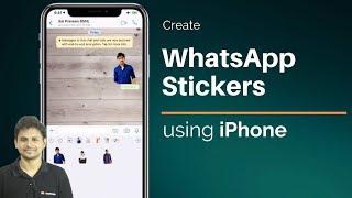 كيفية إنشاء WhatsApp ملصقات باستخدام اي فون/آي باد ؟