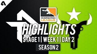 Toronto Defiant vs Houston Outlaws | Overwatch League S2 Highlights - Stage 1 Week 1 Day 2