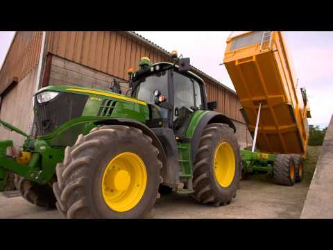 Traktor John Deere 6M