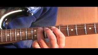 Jimi Hendrix - Who knows gitaarles