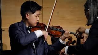 Camerata Youth Orchestra - Violin Concerto No. 5 in A minor, I. Allegro non troppo / Vieuxtemps
