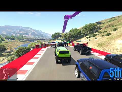 GTA 5 #415 TROLL RACE?
