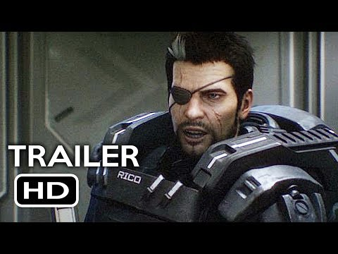 Starship Troopers: Traitor of Mars Official Trailer #1 (2017) Casper Van Dien Animated Movie HD