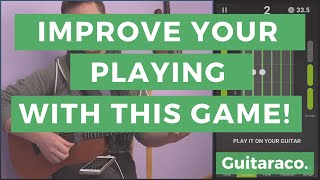 """two games on """"guitartuna"""" app that improve your playing"""