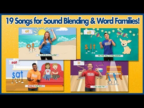 Sound It Out with Word Family Songs (Sound Blending!)