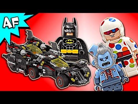 Lego Batman Movie ULTIMATE BATMOBILE 70917 Speed Build